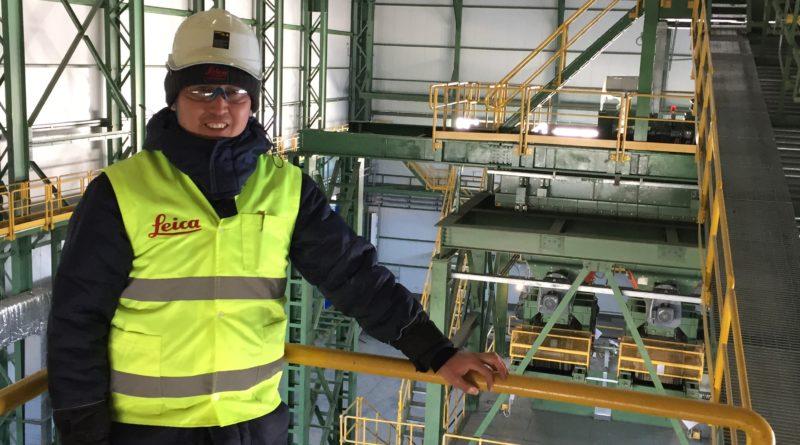 Геодезическое сопровождение строительства на Актогайском руднике