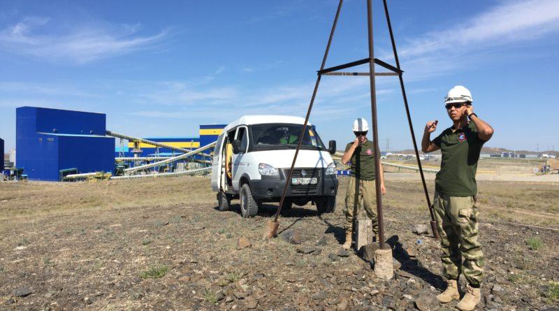 Инженерно-геодезические работы на объекте:  «Surveying Monuments Tailings Dam»  на руднике Актогай, Аягозского района  Восточно-Казахстанской области